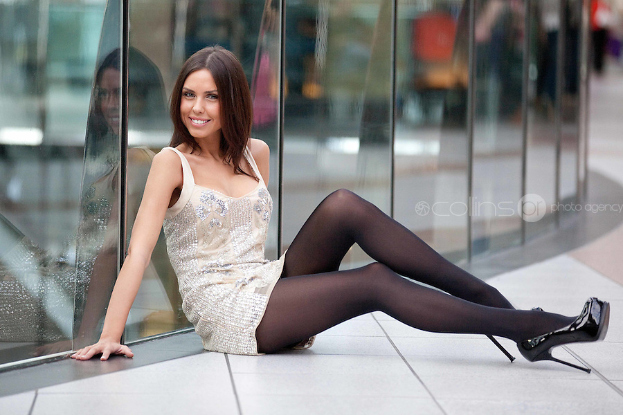 NO REPRO FEE. 21/10/2010. Blanchardstown Centre Fashion Show. Model Eva Green is pictured announcing the upcoming fashion shows happening this weekend October 23rd-25th from 1pm at the Blanchardstown Centre. For more information contact www.blanchardstowncentre.com. Picture James Horan/Collins