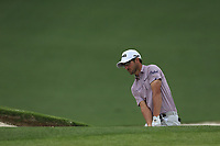 Andrew Landry (USA) on the 2nd green during the final round at the The Masters , Augusta National, Augusta, Georgia, USA. 14/04/2019.<br /> Picture Fran Caffrey / Golffile.ie<br /> <br /> All photo usage must carry mandatory copyright credit (© Golffile | Fran Caffrey)