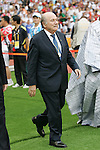 23 August 2008: FIFA President Joseph (Sepp) Blatter. The Medal Ceremony for the Men's Olympic Football Tournament was held at the National Stadium in Beijing, China after the Gold Medal match.