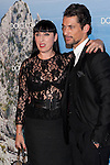 Rossy de Palma and model David Gandy attends Mediterranean Summer Cocktail By Dolce & Gabbana at the Santo Mauro Hotel. May 29, 2013. (ALTERPHOTOS/ACERO)