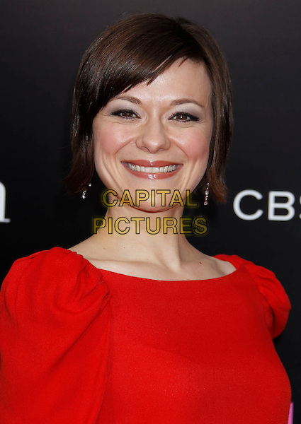 "MARIBETH MONROE .""The Back-up Plan"" Los Angeles Premiere held at the Regency Village Theatre, Westwood, California, USA, 21st April 2010. .arrivals portrait headshot smiling puff sleeve ruched .CAP/ADM/MJ.©Michael Jade/AdMedia/Capital Pictures."