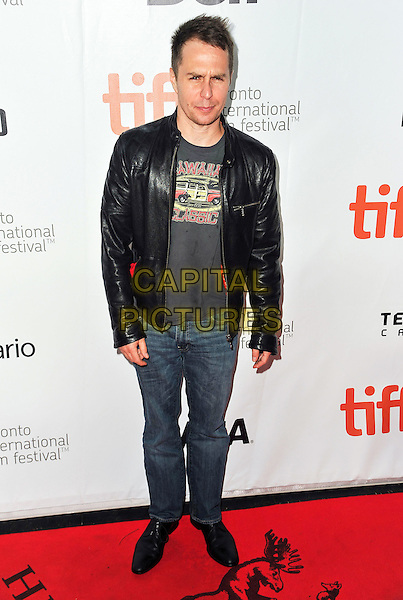 10 September 2014 - Toronto, Canada - Sam Rockwell. &quot;Laggies&quot; Premiere during the 2014 Toronto International Film Festival held at Roy Thomson Hall.  <br /> CAP/ADM/BPC<br /> &copy;Brent Perniac/AdMedia/Capital Pictures