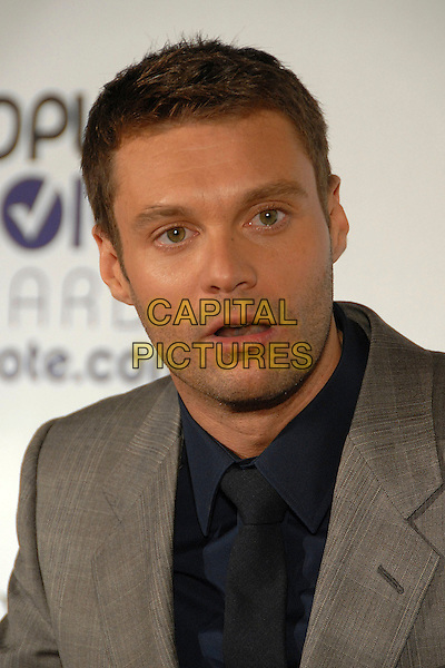 RYAN SEACREST.34th Annual People's Choice Awards Nominations Announcements Party at Area Nightclub, West Hollywood, California, USA, 8 November 2007..portrait headshot funny.CAP/ADM/BP.©Byron Purvis/AdMedia/Capital Pictures.