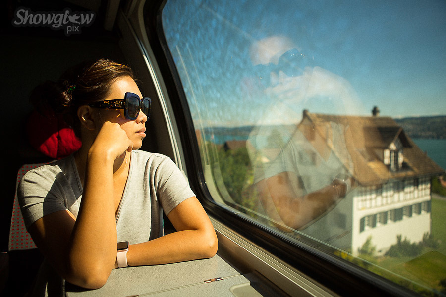 Image Ref: SWISS021<br /> Location: Train to Lucerne, Switzerland<br /> Date of Shot: 18th June 2017