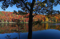 fall colors sherando lake