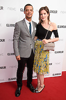 Raleigh Ritchie and girlfriend, Aisling Loftus<br /> arrives for the Glamour Women of the Year Awards 2016, Berkley Square, London.<br /> <br /> <br /> &copy;Ash Knotek  D3130  07/06/2016
