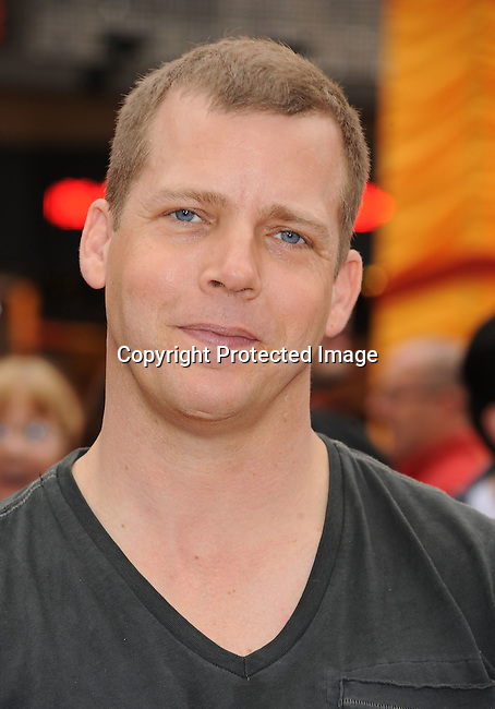 "HOLLYWOOD, {CA} -MAY 22: Tim Griffin arrives at the Los Angeles premiere of ""Kung Fu Panda 2"" held at Grauman's Chinese Theatre on May 22, 2011 in Hollywood, California."