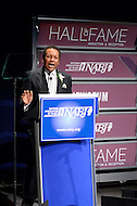 January 26, 2012  (Washington, DC)  TV One President/CEO Johnathan Rodgers speaks during his induction into the 2012 National Association of Black Journalists (NABJ) Hall of Fame. Rodgers has served as President of CBS's urban stations, and preseident of the Discovery Networks.  The induction ceremony was held at the Newseum in Washington.  (Photo by Don Baxter/Media Images International)