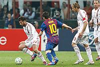 MILANO 28 MARZO 2012, MILAN - BARCELLONA,QUARTI DI FINALE UEFA CHAMPIONS LEAGUE 2011 - 2012, NELLA FOTO: NOCERINO , FOTO DI ROBERTO TOGNONI.