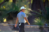 Hideto Tanihara (JPN) in action on the 13th during Round 2 of the ISPS Handa World Super 6 Perth at Lake Karrinyup Country Club on the Friday 9th February 2018.<br /> Picture:  Thos Caffrey / www.golffile.ie<br /> <br /> All photo usage must carry mandatory copyright credit (&copy; Golffile | Thos Caffrey)