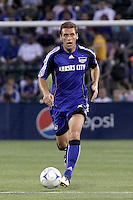 Jimmy Conrad,.Columbus Crew defeated Kansas City Wizards 2-0 at Community America Ballpark, Kansas  City, Kansas.