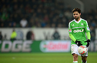 FUSSBALL   1. BUNDESLIGA   SAISON 2012/2013    22. SPIELTAG VfL Wolfsburg - FC Bayern Muenchen                       15.02.2013 Diego (VfL Wolfsburg)  ist enttaeuscht