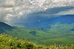 View of mountains from Mount Washington.