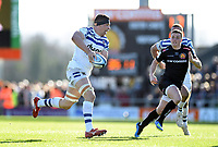 Charlie Ewels of Bath Rugby goes on the attack. Gallagher Premiership match, between Exeter Chiefs and Bath Rugby on March 24, 2019 at Sandy Park in Exeter, England. Photo by: Patrick Khachfe / Onside Images