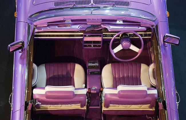 Purple Vintage Cadillac