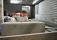 Begehung Citytunnel City-Tunnel Leipzig - Stationen Hauptbahnhof, Markt, Wilhelm-Leuschner-Platz - die Stationen bekommen so langsam ihren Innenausbau - Verkleidungen werden an die Wände gebracht und die Signalanlage sind an einigen Stellen auch schon vorbereitet - im Bild: Station Hauptbahnhof. Foto: aif / Norman Rembarz..Jegliche kommerzielle wie redaktionelle Nutzung ist honorar- und mehrwertsteuerpflichtig! Persönlichkeitsrechte sind zu wahren. Es wird keine Haftung übernommen bei Verletzung von Rechten Dritter. Autoren-Nennung gem. §13 UrhGes. wird verlangt. Weitergabe an Dritte nur nach  vorheriger Absprache. Online-Nutzung ist separat kostenpflichtig...