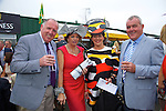 Enjoying Ladies Day at the Listowel Races on Friday were: Brendan McAreavey, Veronica Houlihan, Dingle, Betty McGrath Moriarty, Listowel and Francis Murphy