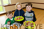 Enjoying  the Listellick National School Fundraising Cake Sale in St Brendans Pastoral Centre on Sunday were Luke Sheehy, Dara Fitzmaurice and Jonathan Sheehy