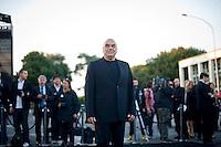 Roma, 5 Giugno, 2013. L'architetto Massimiliano Fuksas al 'One Night Only' Roma organizzato da Giorgio Armani al Palazzo della Civilta Italiana.