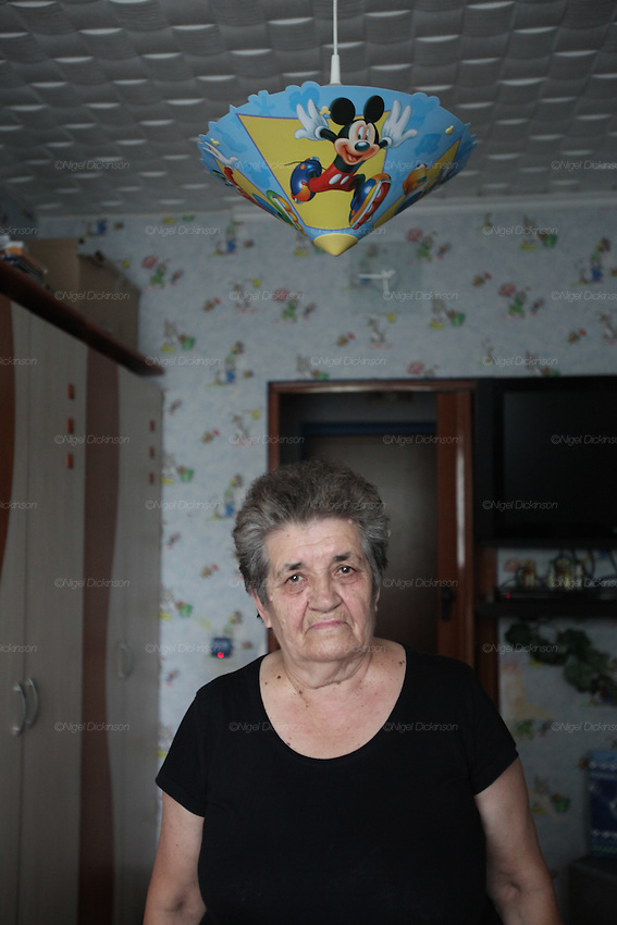 "Krystyna Gil was five years old when she witnessed the massacre of most of her family at Szczurowa where 93 Roma were murdered by Nazis. Krystyna was handed to her grandmother by her mother who was killed. Five people survived the massacre, when they were told by Polish Police to run away. Szczurowa near Tarnow, Poland 1943..Roma Holocaust ""Porrajmos"", the Roma word means literally ""the devouring"", where it is estimated that between 500 thousand and one and a half million Roma were exterminated across Germany, Poland, ex-Yugoslavia and Czechoslovakia during the 1930s and 1940s. The Roma were the first race to be subjected to experimentation by the Nazis, as part of Joseph Goebbels' 'Final Solution'."