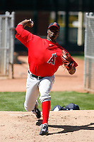 Jeremy Haynes - Los Angeles Angels - 2009 spring training.Photo by:  Bill Mitchell/Four Seam Images