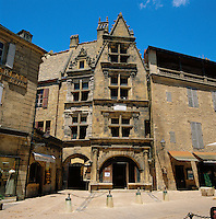 France, Aquitaine, Département Dordogne, Sarlat-la-Canéda: Maison De La Boetie - Exterior | Frankreich, Aquitanien, Département Dordogne, Sarlat-la-Canéda: Maison De La Boetie