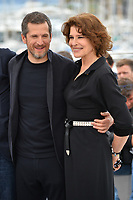 """CANNES, FRANCE. May 21, 2019: Guillaume Canet & Fanny Arant at the photocall for """"La Belle Epoque"""" at the 72nd Festival de Cannes.<br /> Picture: Paul Smith / Featureflash"""