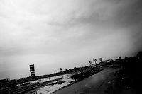 Earthquake aftermath,This town was flooded by the ocean and there was also a worry about a possible tsunami.<br /> San Andres Peru.....