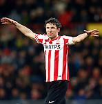 Nederland, Eindhoven, 18 januari 2013.Eredivisie.Seizoen 2012-2013.PSV-PEC Zwolle.Mark van Bommel van PSV