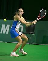 09-02-14, Netherlands,Rotterdam,Ahoy, ABNAMROWTT, Quatt tournament juniors, Sanne de Ruiter (NED)<br /> Photo:Tennisimages/Henk Koster
