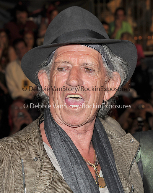 Keith Richards at Walt Disney Pictures Premiere of Pirates of the Caribbean : On Stranger Tides held at Disneyland in Anaheim, California on May 07,2011                                                                               © 2010 Hollywood Press Agency