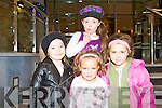 HANNAH CONCERT: Enjoying a great time at the Hannah Montana concert at the Fels Point Hotel on Saturday l-r: Sheneese Coffey, Castleisland, Nikita Coffey, Abbeyfeale and Naomi O'Brien and Nicola McCarthy, Castleisland.