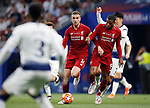 Liverpool's FC Jordan Henderson during UEFA Champions League match, Final Roundl between Tottenham Hotspur FC and Liverpool FC at Wanda Metropolitano Stadium in Madrid, Spain. June 01, 2019.(Foto: nordphoto / Alterphoto /Manu R.B.)