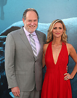 HOLLYWOOD, CA - August 6: Jon Turtletaub, Amy Eldon, at Warner Bros. Pictures And Gravity Pictures' Premiere Of &quot;The Meg&quot; at TCL Chinese Theatre IMAX in Hollywood, California on August 6, 2018. <br /> CAP/MPI/FS<br /> &copy;FS/MPI/Capital Pictures