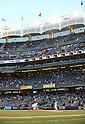 Masahiro Tanaka (Yankees), APRIL 9, 2014 - MLB : New York Yankees starting pitcher Masahiro Tanaka touches the pitcher's plate before the MLB game between the New York Yankees and the Baltimore Orioles at Yankee Stadium in The Bronx, New York, United States. (Photo by AFLO)