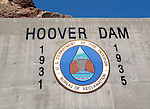 Hoover Dam Seal at Hoover Dam