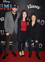HOLLYWOOD, CA - MARCH 11: (R-L) Rhea Perlman, Grace Fan DeVito and guest attend the premiere of Disney's 'Dumbo' at El Capitan Theatre on March 11, 2019 in Los Angeles, California.<br /> CAP/ROT/TM<br /> &copy;TM/ROT/Capital Pictures