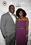 DJ Jon Quick and Honoree Brigid Turner Attends The 4th Annual Beauty and the Beat: Heroines of Excellence Awards Honoring Outstanding Women of Color on the Rise Hosted by Wilhelmina and Brand Jordan Model Maria Clifton Held at the Empire Room, NY 3/22/13