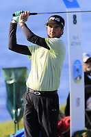 Bubba Watson (USA) tees off the 8th tee during Sunday's Final Round of the 2018 AT&amp;T Pebble Beach Pro-Am, held on Pebble Beach Golf Course, Monterey,  California, USA. 11th February 2018.<br /> Picture: Eoin Clarke | Golffile<br /> <br /> <br /> All photos usage must carry mandatory copyright credit (&copy; Golffile | Eoin Clarke)