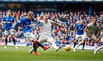 28.04.2019 Rangers v Aberdeen: Steven Davis and Lewis Ferguson