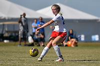 Lakewood Ranch, FL - December 09, 2019: Girls U.S. Soccer Development Academy - Winter Showcase on Monday, December 09, 2019, at Premier Sports Campus in Lakewood Ranch, FL.