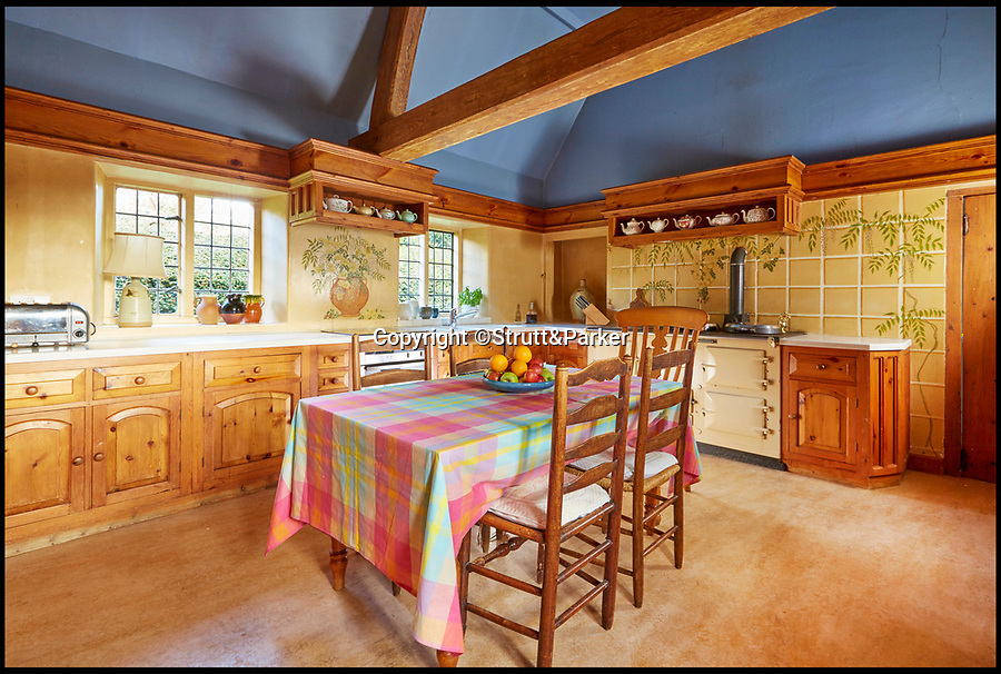 """BNPS.co.uk (01202 558833)<br /> Pic: Strutt&Parker/BNPS<br /> <br /> Luvvie nest...<br /> <br /> A striking Cotswold manor house that was the scene of parties with the great and good of the acting world has gone on the market.<br /> <br /> John Wood, one of theatre's most distinguished actors, bought Hidcote House in 1981 and described it as the """"most magical house in England"""".<br /> <br /> His daughter said he had many parties while he lived there and his circle of friends included playwrights Tom Stoppard and Harold Pinter, director Woody Allen and actors Maggie Smith, Ralph Fiennes, Lauren Bacall and Johnny Depp.<br /> <br /> The Grade I listed manor house in Hidcote Boyce, Glos, which comes with a separate cottage and 21 acres of grounds, is now being sold through Strutt & Parker with a guide price of £3million."""