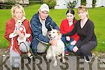 Abbeyfeale Boarding Kennells Dog Show; Pictured at the Dog Show held at the Abbeyfeale Boarding Kennells, Knocknasna on Sunday last were Rosie O'Sullivan& Jack, Paddy O'Grady & Arthur, Shannon & Doreen O'Grady from Knocknagoshel.