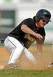 21 April 2007: University of Vermont Catamounts' Nick Gallipani, a Senior from Brewster, NY, in action against the University of Hartford Hawks at Historic Centennial Field, in Burlington, Vermont...Mandatory Photo Credit: Ed Wolfstein Photo