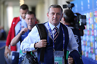 England Under21 manager Aidy Boothroyd arrives at the ground before Slovakia Under-21 vs England Under-21, UEFA European Under-21 Championship Football at The Kolporter Arena on 19th June 2017