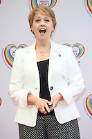 Anne Diamond arriving for the Health Lottery Tea Party, The Savoy, London. 02/06/2014 Picture by: Alexandra Glen / Featureflash