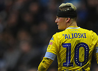 Leeds United's Ezgjan&nbsp;Alioski<br /> <br /> Photographer Kevin Barnes/CameraSport<br /> <br /> The EFL Sky Bet Championship - Preston North End v Leeds United -Tuesday 9th April 2019 - Deepdale Stadium - Preston<br /> <br /> World Copyright &copy; 2019 CameraSport. All rights reserved. 43 Linden Ave. Countesthorpe. Leicester. England. LE8 5PG - Tel: +44 (0) 116 277 4147 - admin@camerasport.com - www.camerasport.com