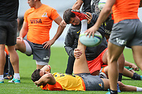 Super Rugby - Jaguares captain's run at Eden Park in Auckland, New Zealand on Friday, 27 April 2018. Photo: Simon Watts / lintottphoto.co.nz