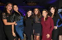 LOS ANGELES, CA - NOVEMBER 8: Alex Meneses, Andrea Navedo, Edy Ganem, Lisa Vidal, Eva Longoria, Maria Canals-Barrera, at the Eva Longoria Foundation Dinner Gala honoring Zoe Saldana and Gina Rodriguez at The Four Seasons Beverly Hills in Los Angeles, California on November 8, 2018. Credit: Faye Sadou/MediaPunch