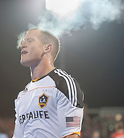 13 April 2011: Los Angeles Galaxy forward Chad Barrett #11 in action during an MLS game between Los Angeles Galaxy and the Toronto FC at BMO Field in Toronto, Ontario Canada..The game ended in a 0-0 draw.